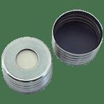 Capuchon à visser magnétique avec joint moulé butyl gris/PTFE 50 ° shore A 3,0 mm ref 18080801