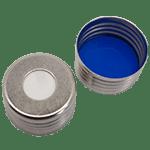 Capuchon à visser magnétique avec joint en silicone blanc/PTFE bleu 55° shore A, 1,5mm ref 18080804