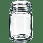 Flacon à vis 50 ml, 69,5 x 41 mm, en verre transparent Classe III ref 400450