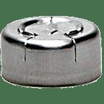 Capsule à sertir en aluminium de 13 mm avec languette de sécurité à arracher ref 8083-TO
