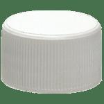 Capuchon à vis autoclavable 17 mm, en polypropylène blanc ref 8084-cw-lio