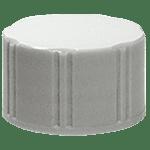 Bouchon à vis 17 mm avec disque en polyéthylène (non autoclavable) ref 8084-cw-pp