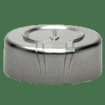 Capsule à sertir en alu. de 20 mm avec languette de sécurité à arracher ref 8087-TO